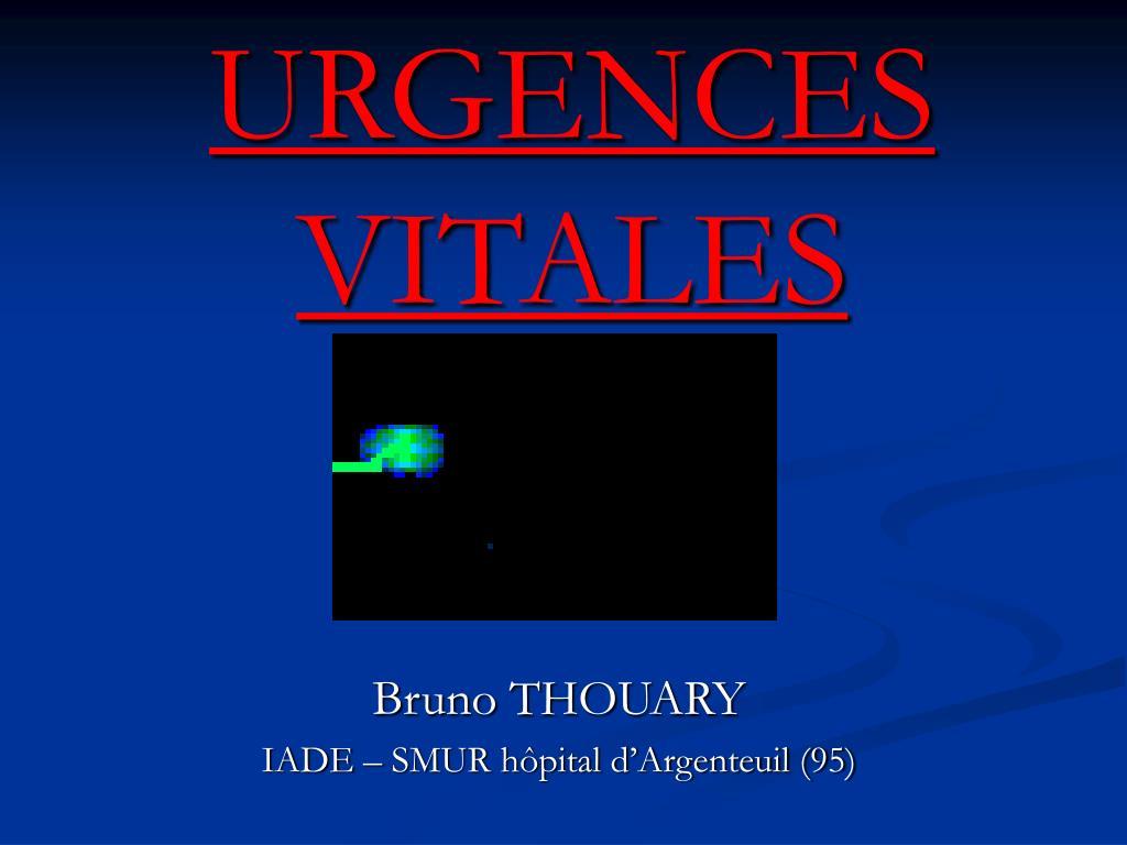 urgences vitales l.