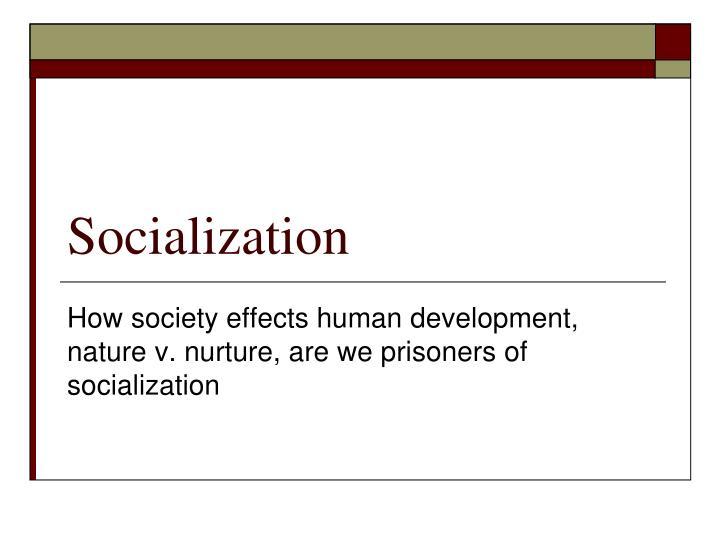 socialization n.