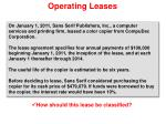 operating leases11