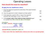 operating leases12