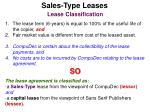sales type leases49