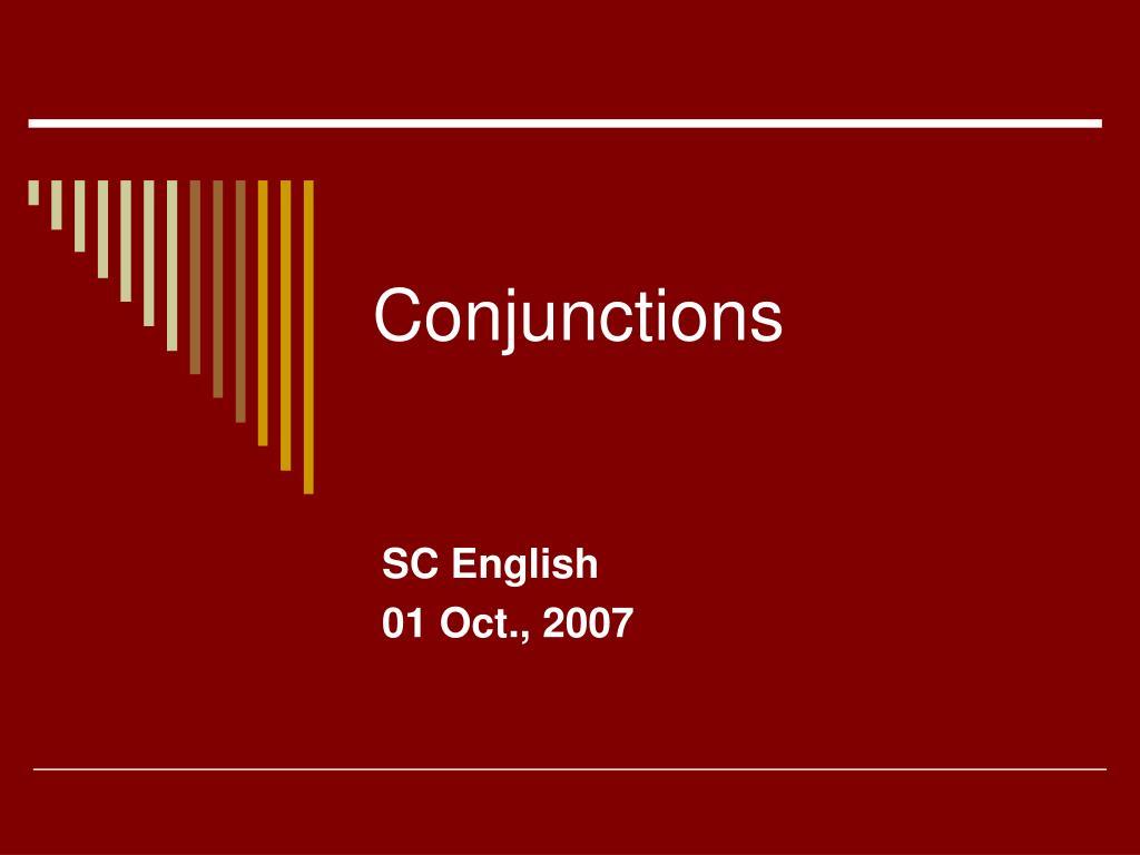 conjunctions l.