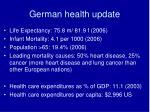 german health update