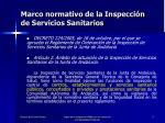 marco normativo de la inspecci n de servicios sanitarios3