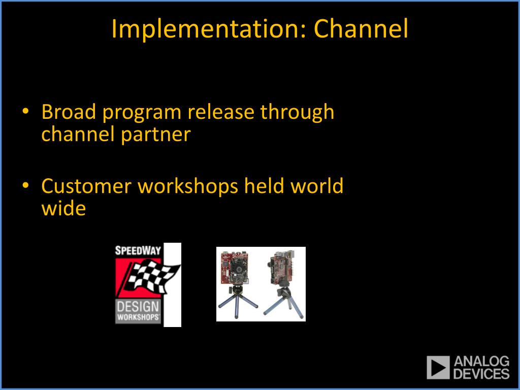 Implementation: Channel
