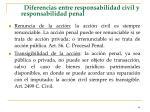 diferencias entre responsabilidad civil y responsabilidad penal66