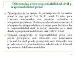 diferencias entre responsabilidad civil y responsabilidad penal67
