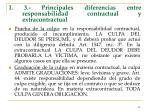 i 3 principales diferencias entre responsabilidad contractual y extracontractual