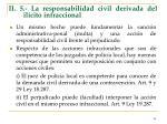 ii 5 la responsabilidad civil derivada del il cito infraccional