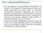 iii 2 a responsabilidad penal
