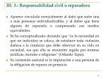 iii 3 responsabilidad civil o reparadora
