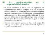 iii la constitucionalidad de la responsabilidad objetiva