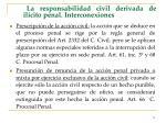 la responsabilidad civil derivada de il cito penal interconexiones75