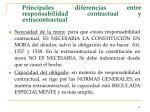 principales diferencias entre responsabilidad contractual y extracontractual