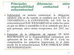 principales diferencias entre responsabilidad contractual y extracontractual40