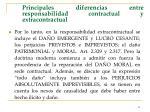 principales diferencias entre responsabilidad contractual y extracontractual41