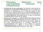 principales diferencias entre responsabilidad contractual y extracontractual42