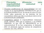 principales diferencias entre responsabilidad contractual y extracontractual43