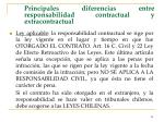 principales diferencias entre responsabilidad contractual y extracontractual44