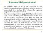 responsabilidad precontractual58