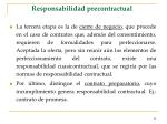 responsabilidad precontractual59