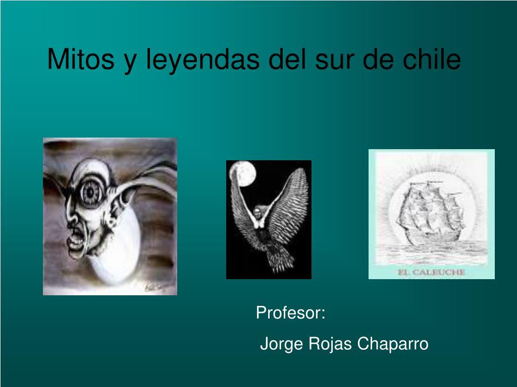 mitos y leyendas del sur de chile l.