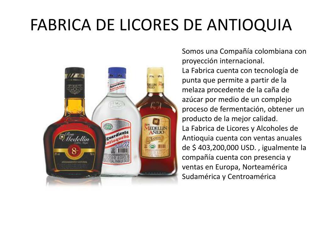 fabrica de licores de antioquia l.