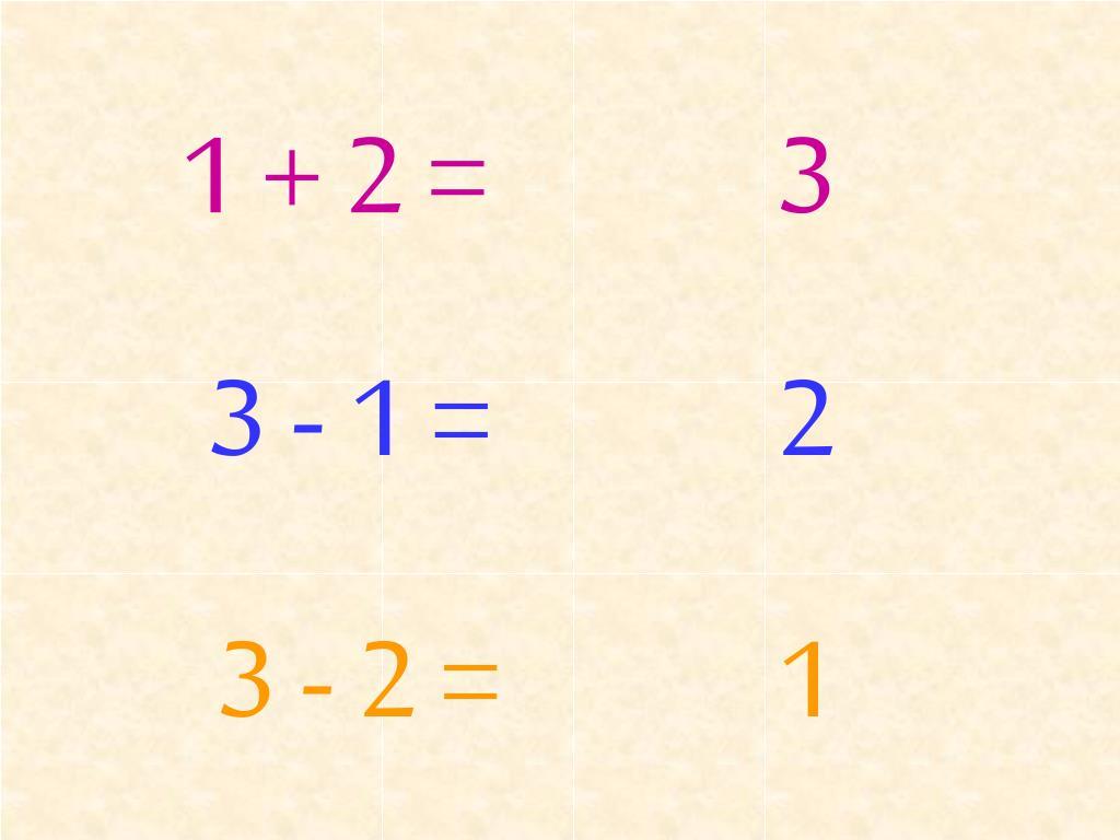 1 + 2 =