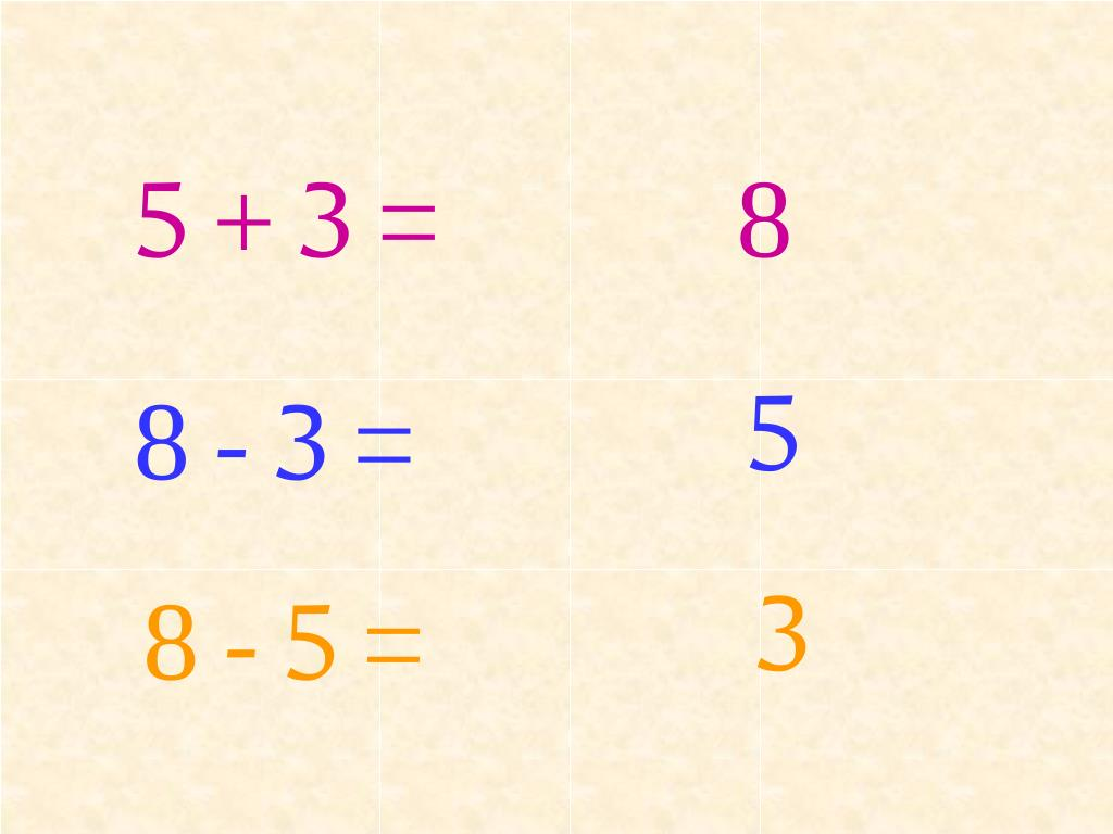 5 + 3 =