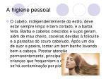 a higiene pessoal11