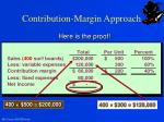 contribution margin approach3