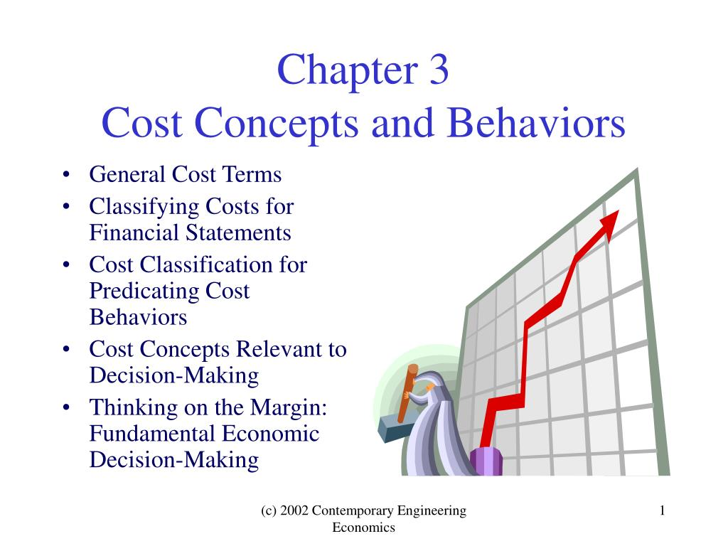chapter 3 cost concepts and behaviors l.