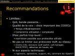 recommandations56