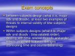 exam concepts4