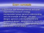 exam concepts5