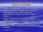 exam concepts6