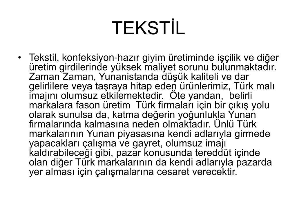 TEKSTİL