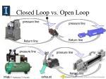 closed loop vs open loop