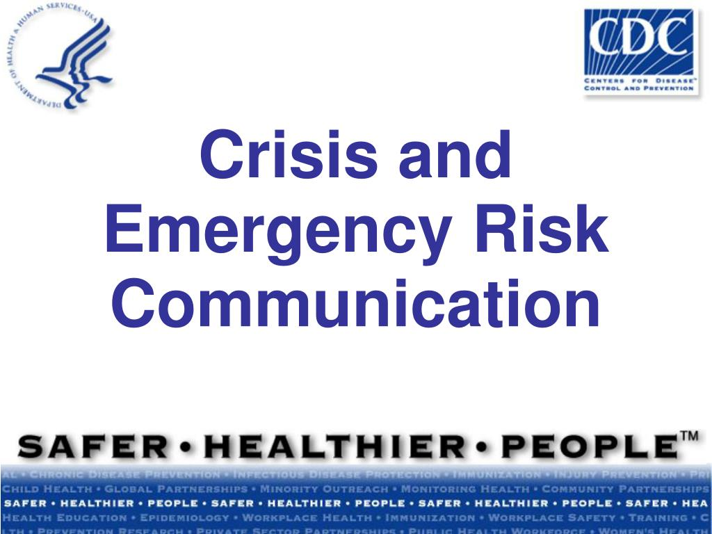 crisis and emergency risk communication l.