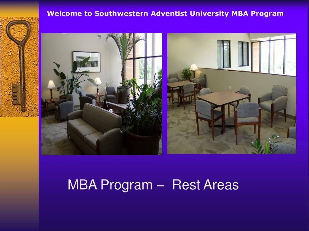 Welcome to Southwestern Adventist University MBA Program