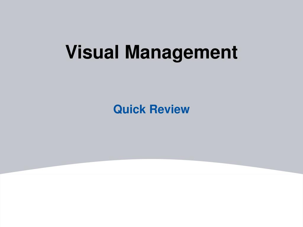 visual management l.