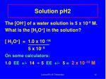 solution ph2