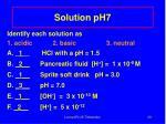solution ph7