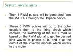 system mechanism31
