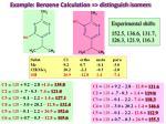 example benzene calculation distinguish isomers39