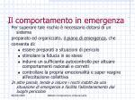 il comportamento in emergenza5