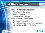 1 2 dicretization