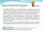 about market square