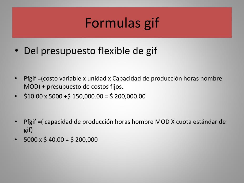 Formulas gif