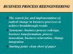 business process reengineering2